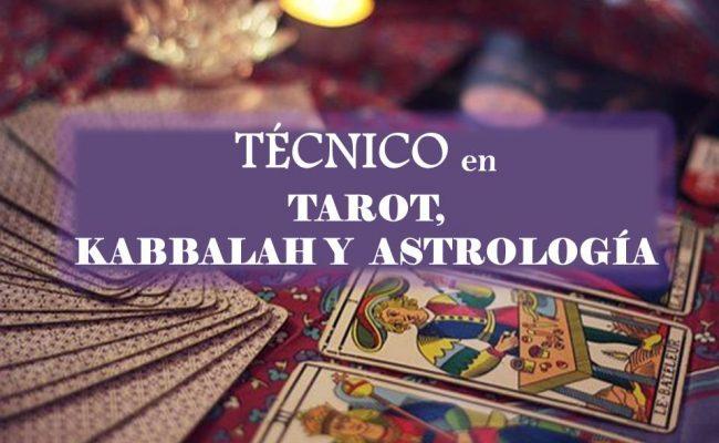 TÉCNICO EN TAROT, KABBALAH Y  ASTROLOGÍA